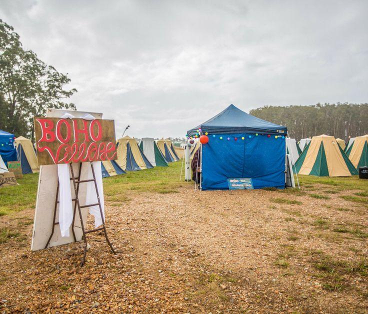 Boho Village by Byron Bay Camping Hire.  Making camping beautiful!