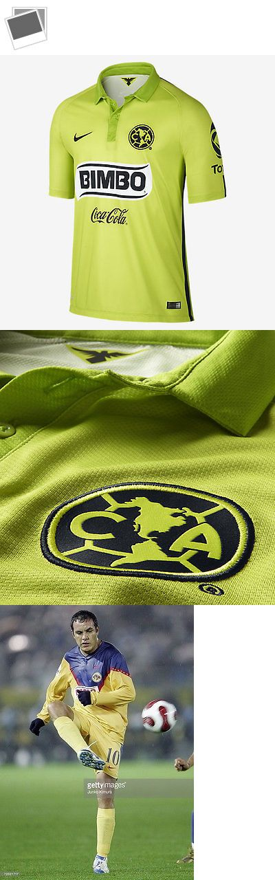 Soccer-Other 2885: Nike Cuauhtemoc Blanco Club America Third Jersey 2015 Atomic Green -> BUY IT NOW ONLY: $115 on eBay!