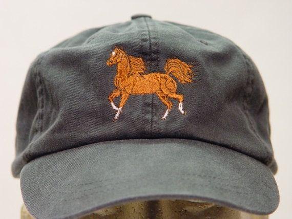 ARABIAN HORSE RUNNING Hat  One Embroidered Men Women Cap