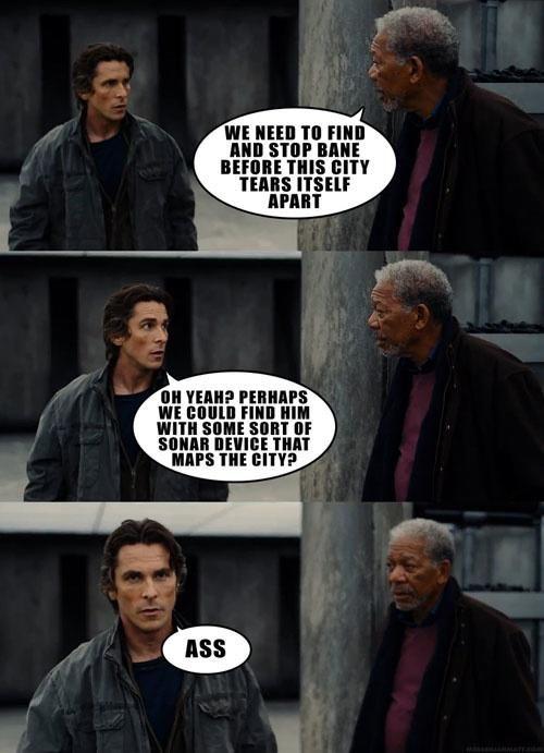 #Humor #Funny #Jokes  Top 20 humorous Dark Knight Rises quotes and memes