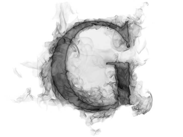 Smoke Letter G