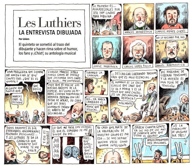 Les Luthiers por Liniers