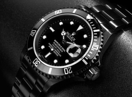 Black on Black Rolex Sub. This one is also really growing on me but I still love the Classic Sub stainless and black Perfect for All occasions