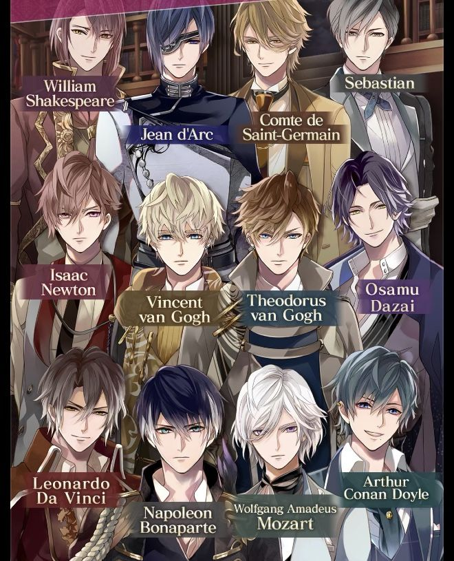 idk their names Anime boy hair, Handsome anime, Black