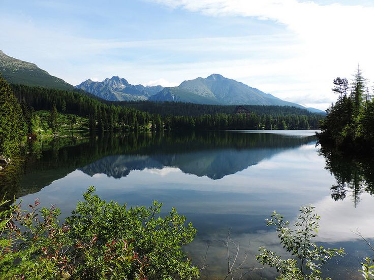 Strbske pleso, High Tatras, Slovakia. High Tatras (in Slovak: Vysoké Tatry) National Park is one of the 9 national parks in Slovakia. It's the oldest, the most-visited and the best-known. And it's our favorite!