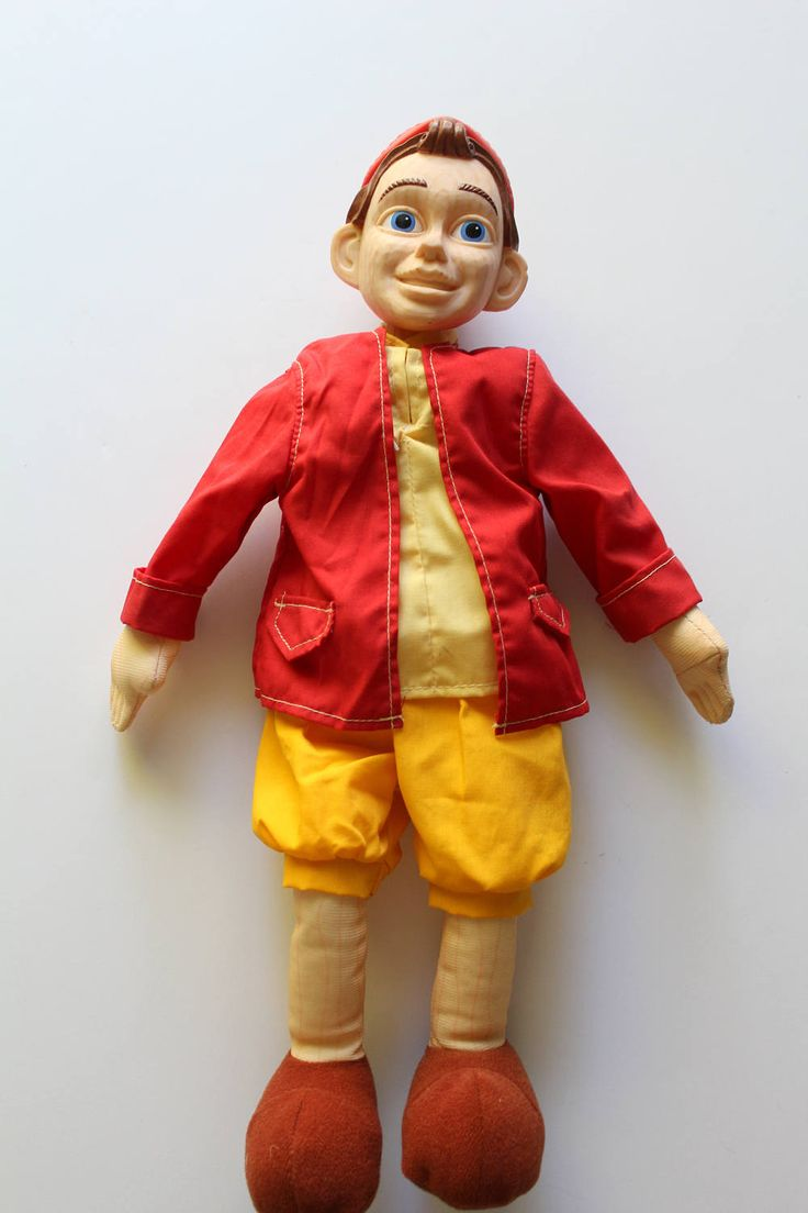 Vintage Talking Pinocchio Doll NEW with Jonathan Taylor Thomas Poster 1996 by WylieOwlVintage on Etsy