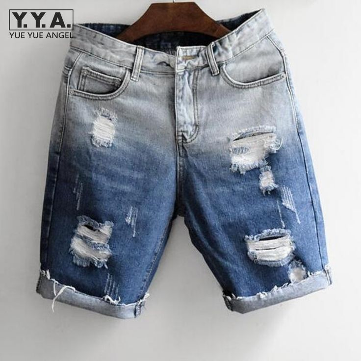 The denim shorts is ugly its size is small its texture is raspy is blue  with white is from Mexico and is made of polyester