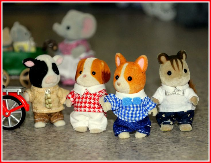 Handmade Trousers for Boy Sylvanians - FREE DELIVERY