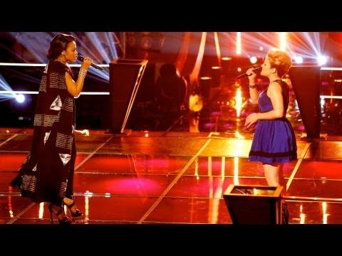 Great battle. I love both singers for different reasons