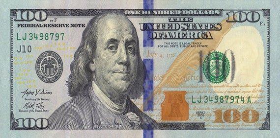 100 Dollar Bill New Beach Towel Etsy In 2020 100 Dollar Bill Dollar Bill Time Value Of Money
