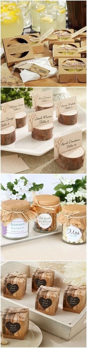 rustic country wedding ideas rustic wedding favors wedding ideas ...