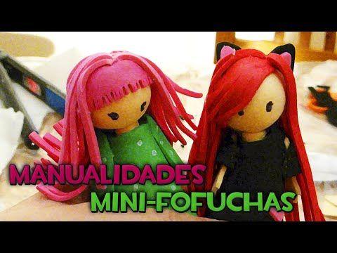 MANUALIDADES   Mini-fofuchas - YouTube
