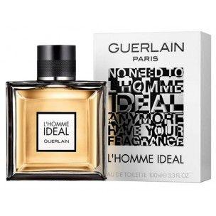Guerlain L Homme Ideal for Men 100 ML Eau De Toilette by Guerlain, Please visit www.perfumesouq.com for more info.