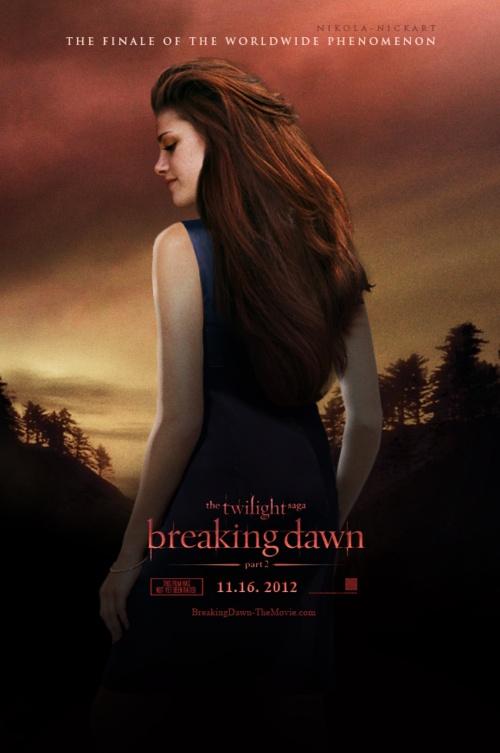 Movie poster: Breaking Dawn Pt. 2