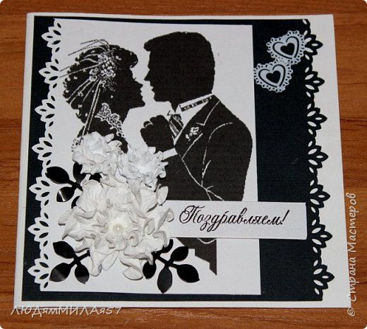 Свадебные открытки и шкатулки с квиллингом.