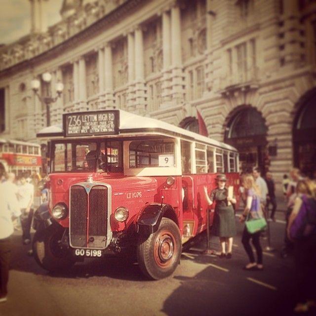 Old london bus #yearofthebus #regentstreet #tfl #routemaster #london #bus - Seokhohan