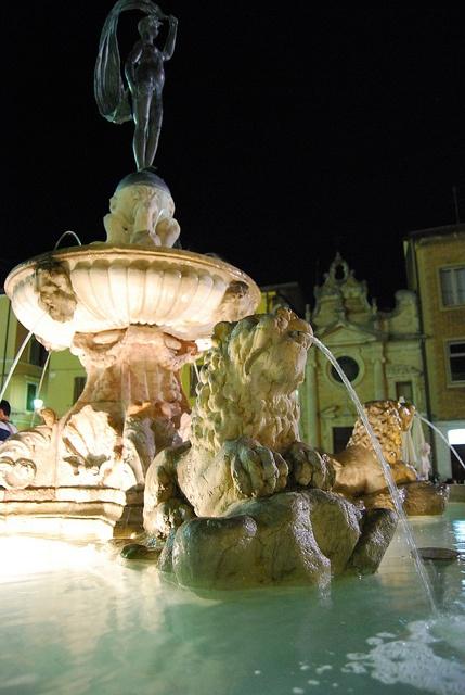 Fontana della fortuna, Fano , Italy (my favorite place in the world)