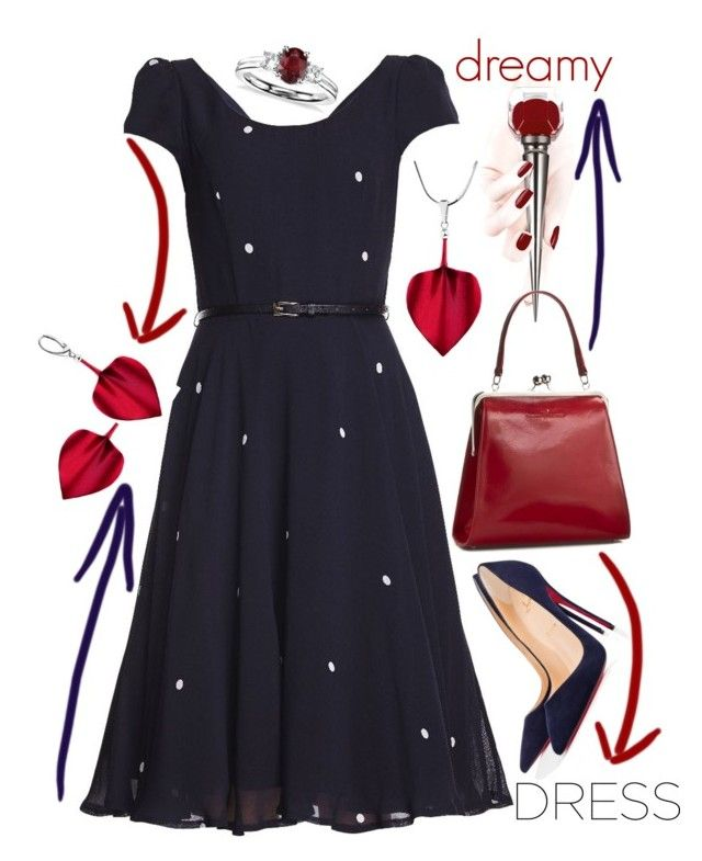 Dreamy dresses by amisha73 on Polyvore featuring moda, Christian Louboutin, Blue Nile, Privé and dreamydresses