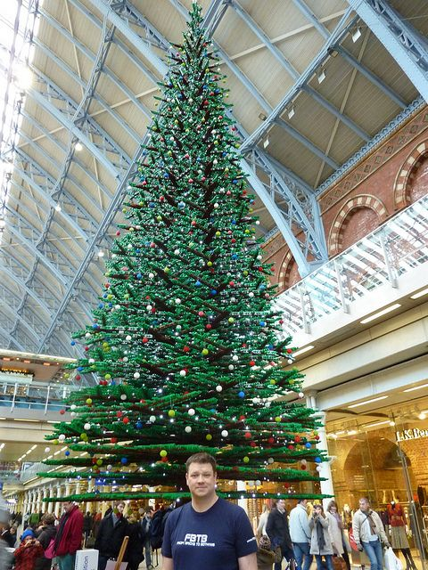 Worlds Largest Lego Christmas Tree