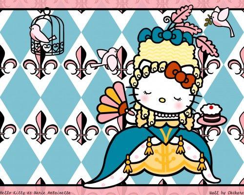 """Maries Manor Hello Kitty: Marie """"Hello Kitty"""" Antoinette"""