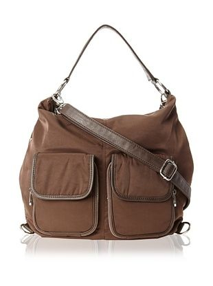 Co-Lab By Christopher Kon Women's Hobo Cross-Body, Brown, One Size