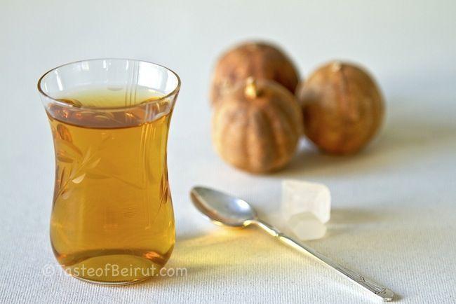Dried lime tea