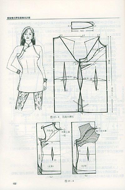 Tunic dress, patterns instructions