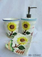 Source sunflower bathroom sets on m.alibaba.com