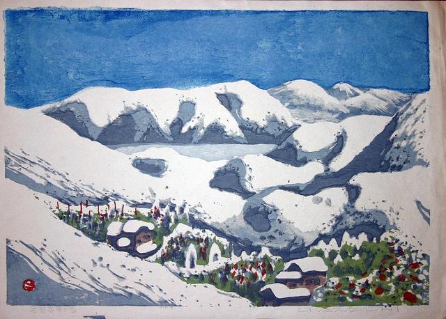 AZECHI Umetaro 1942 Snow on Shiga Heights