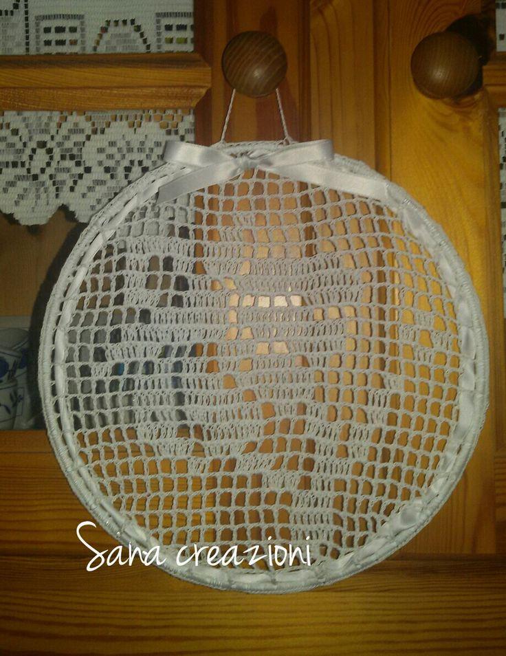 #sanacreazioni #handmade #creation #primavera #decorazioni #artigianale #crocket #uncinetto #mandala #acchiappasogni  Mi trovi su Facebook