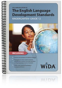 WIDA's website is a great site that provides tons of information on standards, assessments, how to implement the standards and even an online forum where teachers can post ideas.  Awesome resource