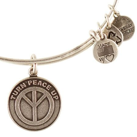 Alex and Ani's Turn Up Peace Expandable Wire Bangle - now just $23! http://www.zeeberry.com/alex-and-ani-jewelry/alex-and-ani-turn-peace-up-expandable-wire-bangle-rafaelian-silver.cfm