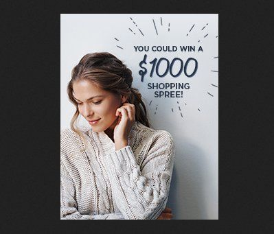 Win 1,000,000 Shop your Way points to be used towards purchasing apparel at any Sears or Kmart store on online at sears.com or kmart.com worth $1,000.00.    Must be a Shop Your Way Rewards member to enter.