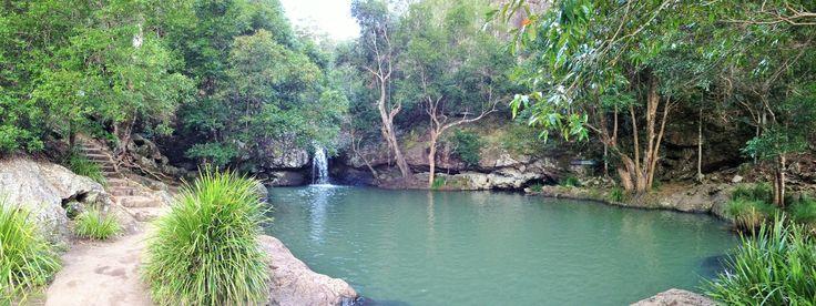Beautiful Kondallilla Falls in the Blackall Ranges near Maleny
