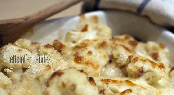 Una forma de cocinar la coliflor que te enamorar con - Bechamel con nata para cocinar ...