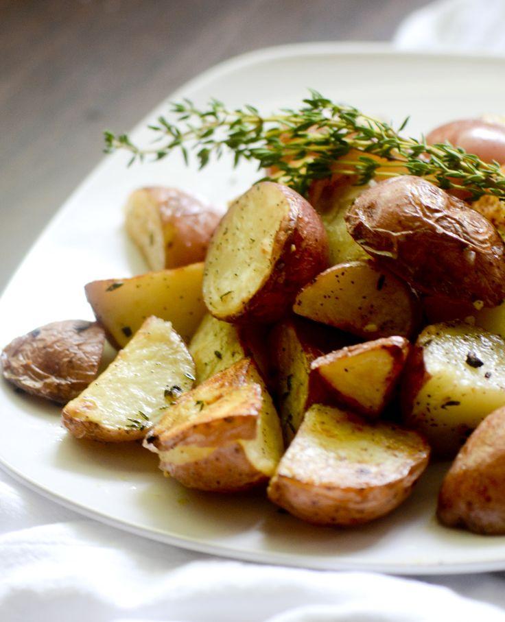 Ina Garten's Garlic Roasted Potatoes
