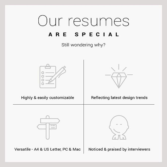 133 best + resume templates images on Pinterest Feminine, Art - latest resume template