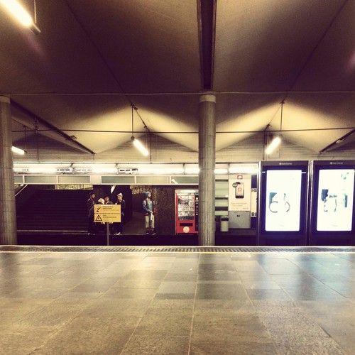 Jernbanetorget t-banestasjon Subwaystation