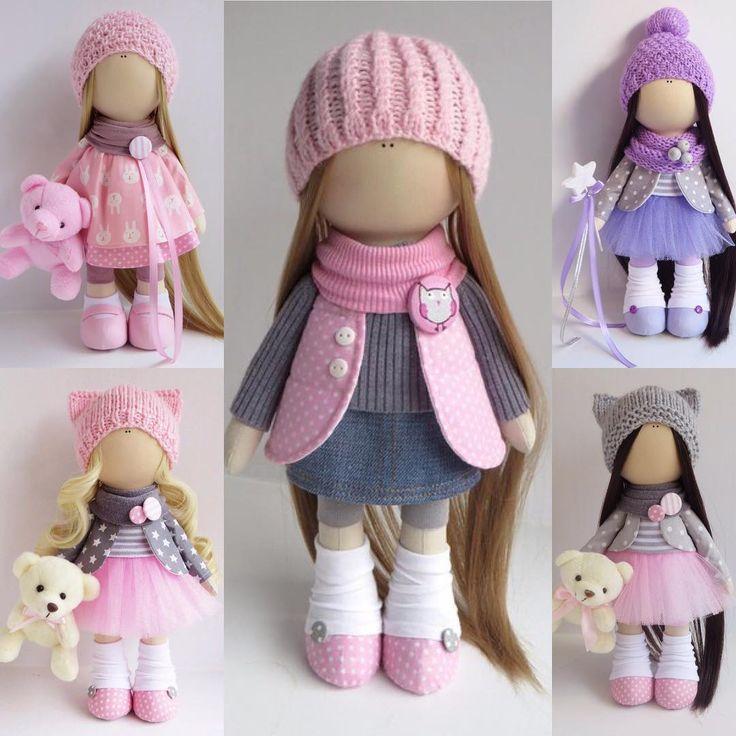 """34 Me gusta, 3 comentarios - Дом Интерьерных Кукол (@hand.made_dolls) en Instagram: """"Малышки в наличии в Калуге """""""