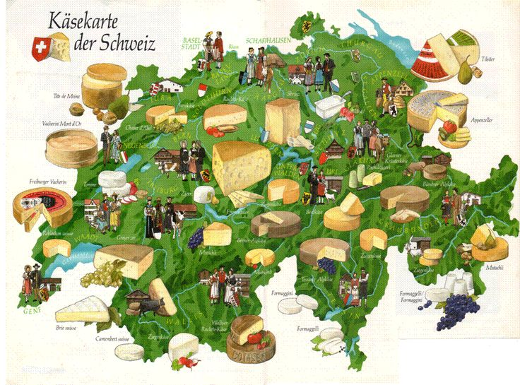The Swiss love their cheese! So much so that every region of the country has its own distinct type of cheese. Bilingual German/English blog.