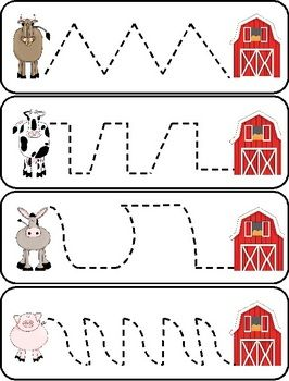 Farm Center Printables - This packet includes reading and math center printables.