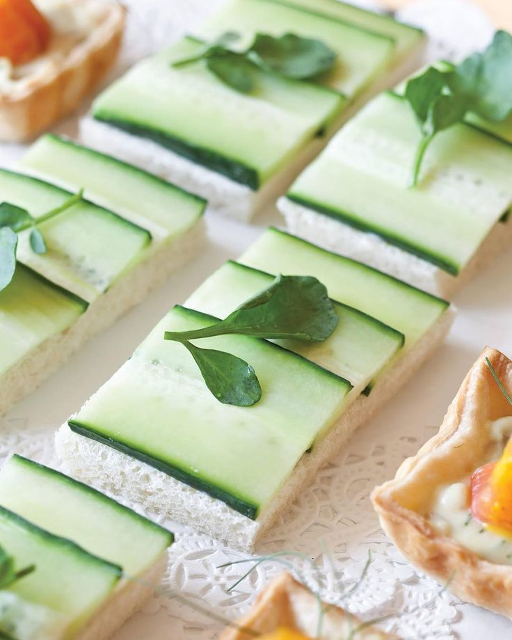 "624 Synes godt om, 11 kommentarer – TeaTime Magazine (@teatimemagazine) på Instagram: ""Sometimes #simple #savories, such as these #refreshing #Cucumber #Canapés, can balance out a #tea…"""