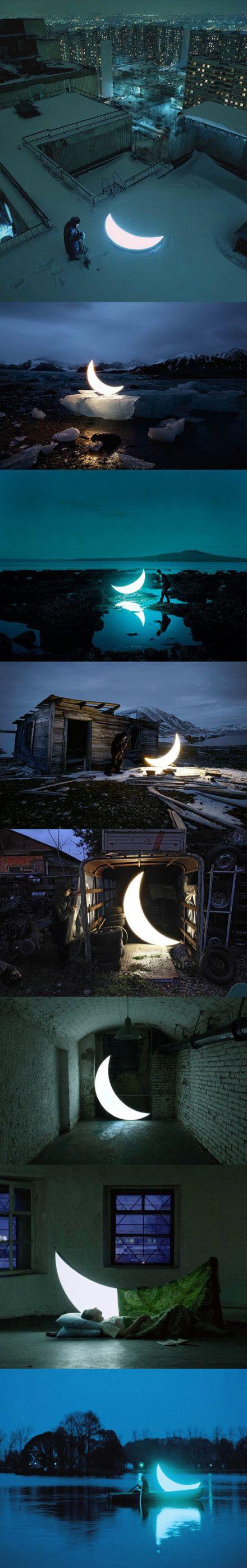 Leonid Tishkov created a moon.