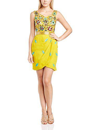 Virgos Lounge Women's Maia Cocktail Short Sleeve Dress, Yellow (Mustard), Size 6 Virgos Lounge http://www.amazon.co.uk/dp/B00LIZPJHK/ref=cm_sw_r_pi_dp_REbHub0D96VNX