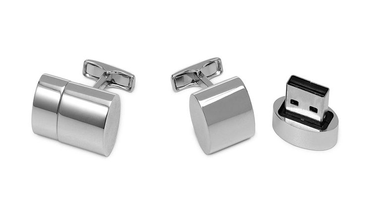 WiFi & USB Cufflinks - Τι κρύβεις πάνω στο μανίκι σου;