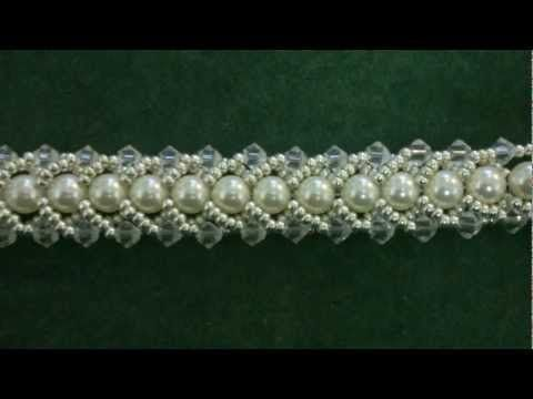 Flat Spiral stitch bracelet Youtube