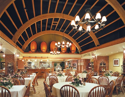 Historic San Antonio Winery located in the heart of Los Angeles.  They have a great dining area with delicious food.