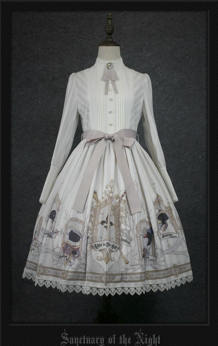 Your Gift -Sanctuary of the Night- Lolita OP Dress