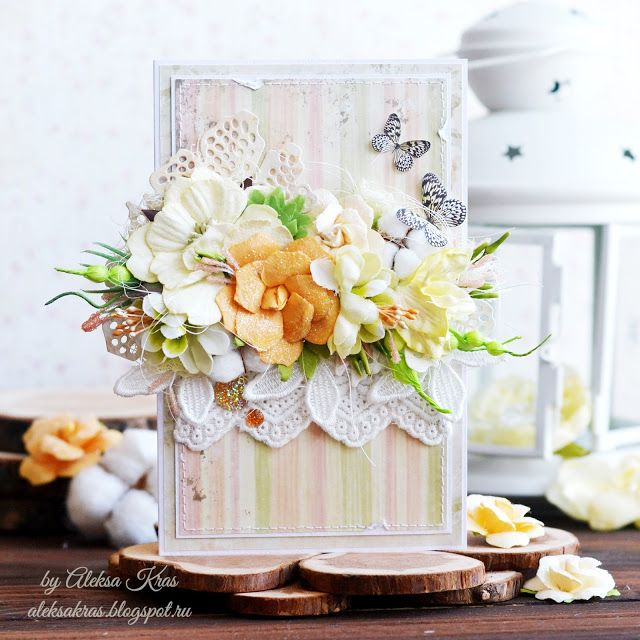 Handmade by Aleksa Kras: Цветы хлопка своими руками. Пошаговый МК