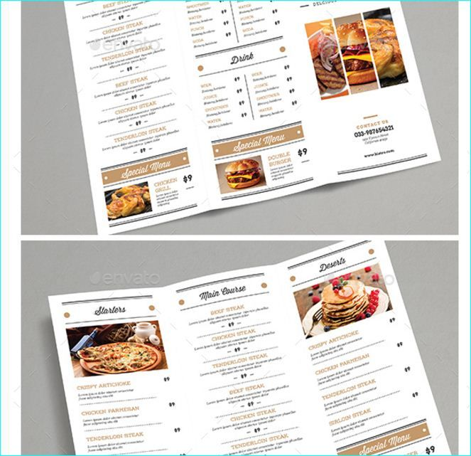 21 best 20 Tasteful \ Beautifully Designed Restaurant Menu - cafe menu templates free download